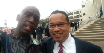 Congressman Keith Ellison tells Houston why he wants to be DNC Chair (VIDEO)