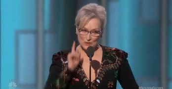 Meryl Streep calls out Trump as she admonished media to do their job (VIDEO)