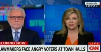 CNN Blitzer used video evidence to call out Rep Marsha Blackburn's lie (VIDEO)