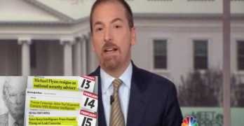 Chuck Todd outs Trump scheme to attack media as fake news whenever Russian news breaks (VIDEO) Russia