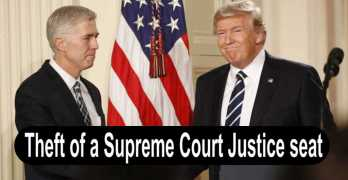 Demand no Democratic support for nominee of stolen Supreme Court seat (VIDEO)