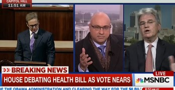Ali Velshi destroys a flustered Fmr. Sen. Tom Coburn with pesky health care facts (VIDEO)
