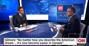 Fareed Zakaria exposes the U.S. failed American Dream that exists successfully in Canada (VIDEO)