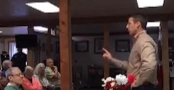 GOP Congressman - Bull crap that constituents pay my salary