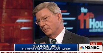 George Will predicts Obamacare to become single-payer because of this inconvenient fact (VIDEO)