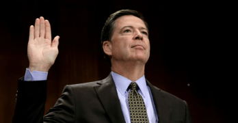 Donald Trump fired FBI Director Comey