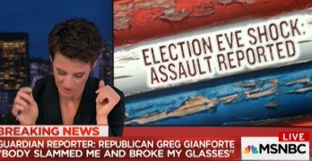 Greg Gianforte campaign responds to candidate slamming Guardian reporter Ben Jacobs (VIDEO)