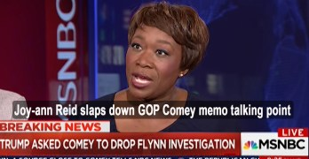 Joy-an Reid slaps down GOP Comey talking point - Gives path to independent counsel (VIDEO)