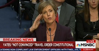 Sally Yates demolished a smugged Ted Cruz schooling him on Constitutional Law