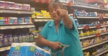 Trump Effect: Walmart racist shopper's rant against Latina and black woman (VIDEO)
