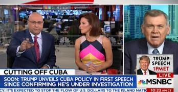 Ali Velshi & Stephanie Ruhle slam former GOP Senator on Trump Cuba policy reversal (VIDEO)