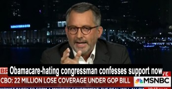 Fmr. Republican Congressman with preexisting condition now loves Obamacare (VIDEO)