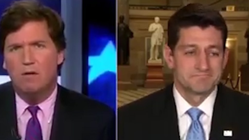 Paul Ryan shrugs with disregard when challenged abou rich getting all the spoils