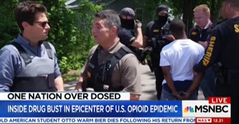 This MSNBC Report on opiate arrests is subliminally racist (VIDEO)