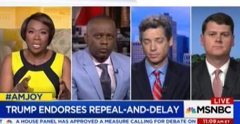 Joy-Ann Reid grills Trumpcare shill defending free market in healthcare (VIDEO)