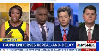 Joy-Ann Reid grills Trumpcare shill defending free market in healthcare (VIDEO)