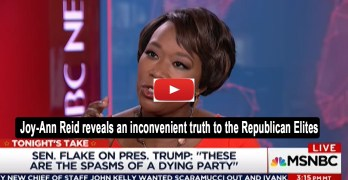 Joy-Ann Reid: Trump is who the real GOP is and Republican elites ashamed (VIDEO)