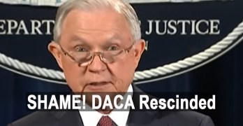 President Trump rescinds DACA mostly on false pretenses that are obvious (VIDEO)