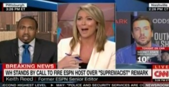 Trump Effect CNN guest only cares about the First Amendment and boobs (VIDEO)