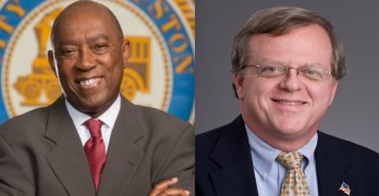 Mayor Sylvester Turner State Senator Paul Bettencourt taxes hypocrisy