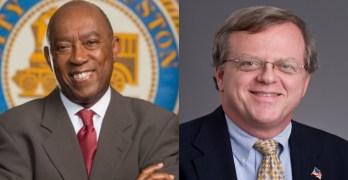 Mayor Sylvester Turner State Senator Paul Bettencourt taxes hypocrisy