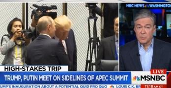 Putin CNBC Editor: President's statement makes it clear Putin has something on him (VIDEO)