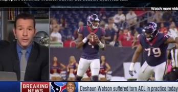 Houston quarterback Deshaun Watson out for the rest of season (VIDEO)