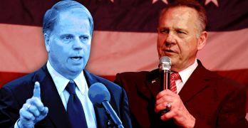 Democrat Doug Jones beat Republican pedophile Roy Moore but hear this …