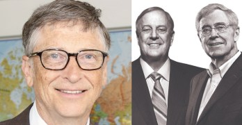 We need an economic system where a Bill Gates or Koch Brothers impossible