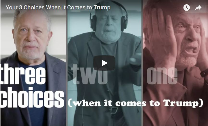 Robert Reich lays out the three choices we have to manage Trump (VIDEO)