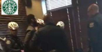 Black men arrested @ Starbucks for trespassing Remember this folks. (VIDEO)