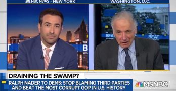 As Republicans surge, Ralph Nader turn the screws on Democrats (VIDEO)