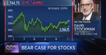 David Stockman predicts 50% stock market plunge and explains why