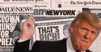 Donald Trump, Press, Journalism