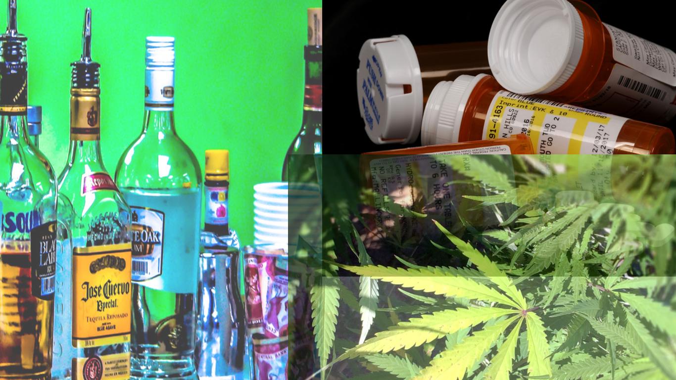 Marijuana, opioids, & alcohol: It is time to change the paradigm