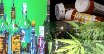 Alcohol, Marijuana, Opioids