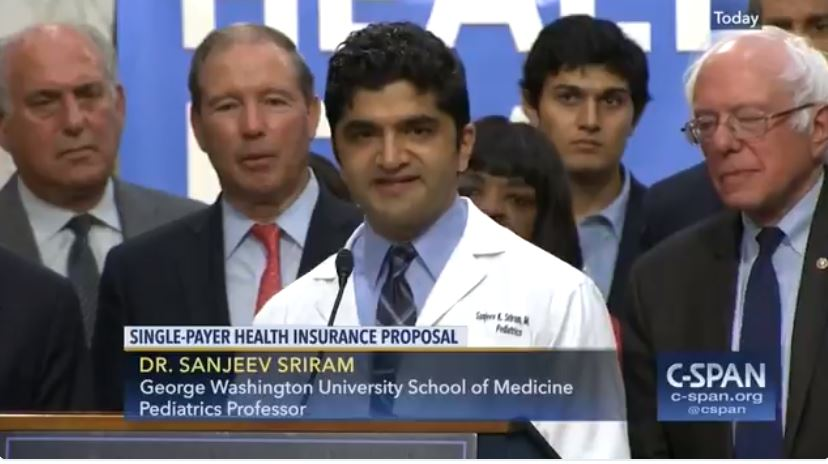 Dr America, Sanjeev K Sriram MD: Why Single-Payer Medicare for All the only answer