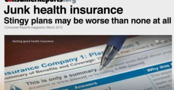 Junk Health Insurance