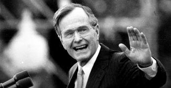 George Bush, 41st President, Dies at 94 - The New York Times
