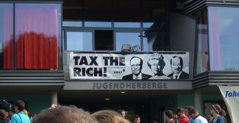 Tax wealth the wealthy rich