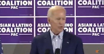 Joe Biden Freudian Slip