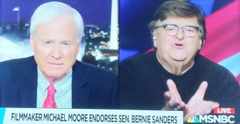 Michael Moore eases Chris Matthews' mind on Central Park execution if Bernie elected