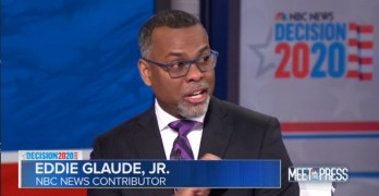 Dr. Eddie Glaude: Shocked by black 'status quo' but Latino bomb exploded.