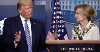 Trump Deborah Birx Photo