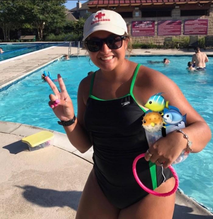 I am ready swim