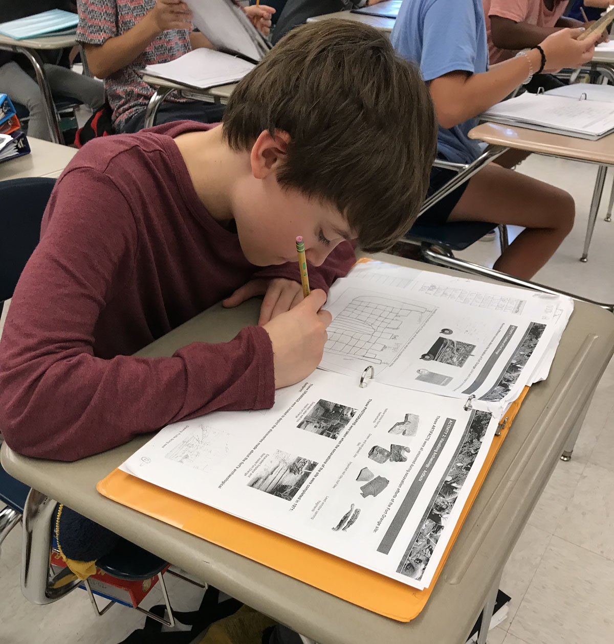 Goff Teacher Partners With Nys Museum For Local History