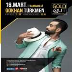 Gökhan Türkmen Konseri – 16 Mart 2019