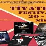 Dumlupınar Üniversitesi Tiyatro Festivali – 20/28 Nisan 2019 – Ücretsiz
