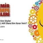 8.İzmir Felsefe Günleri 2019