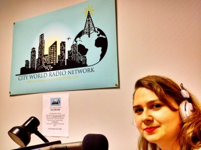 Ege on City World Radio